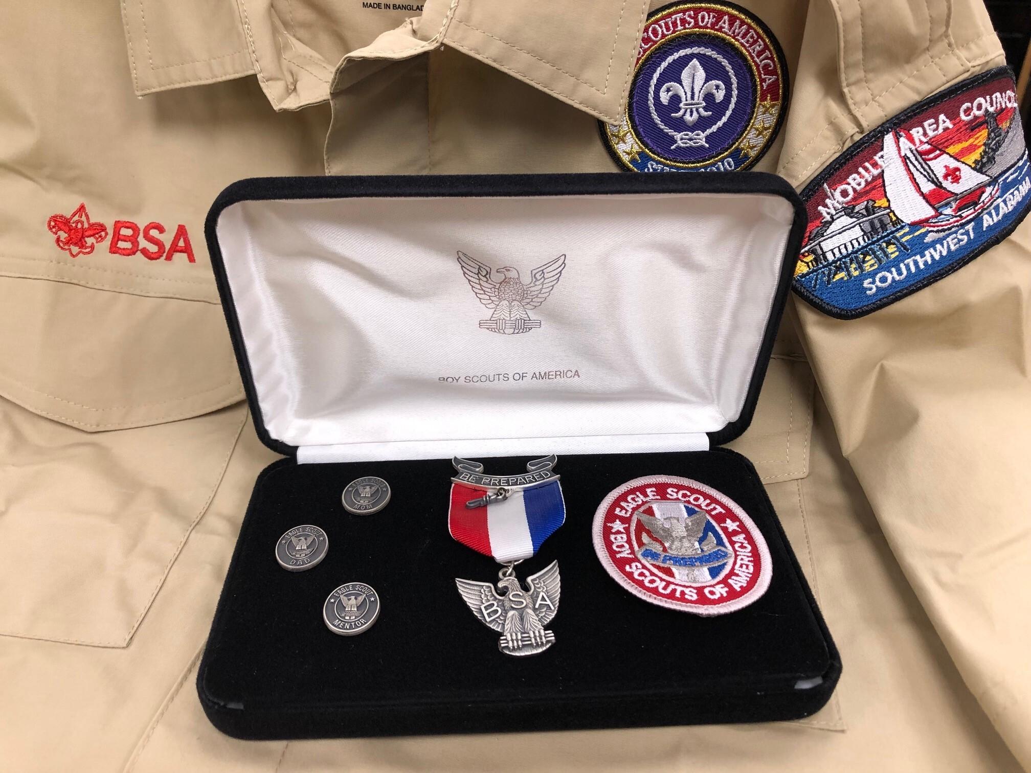 Medal kit uniform background