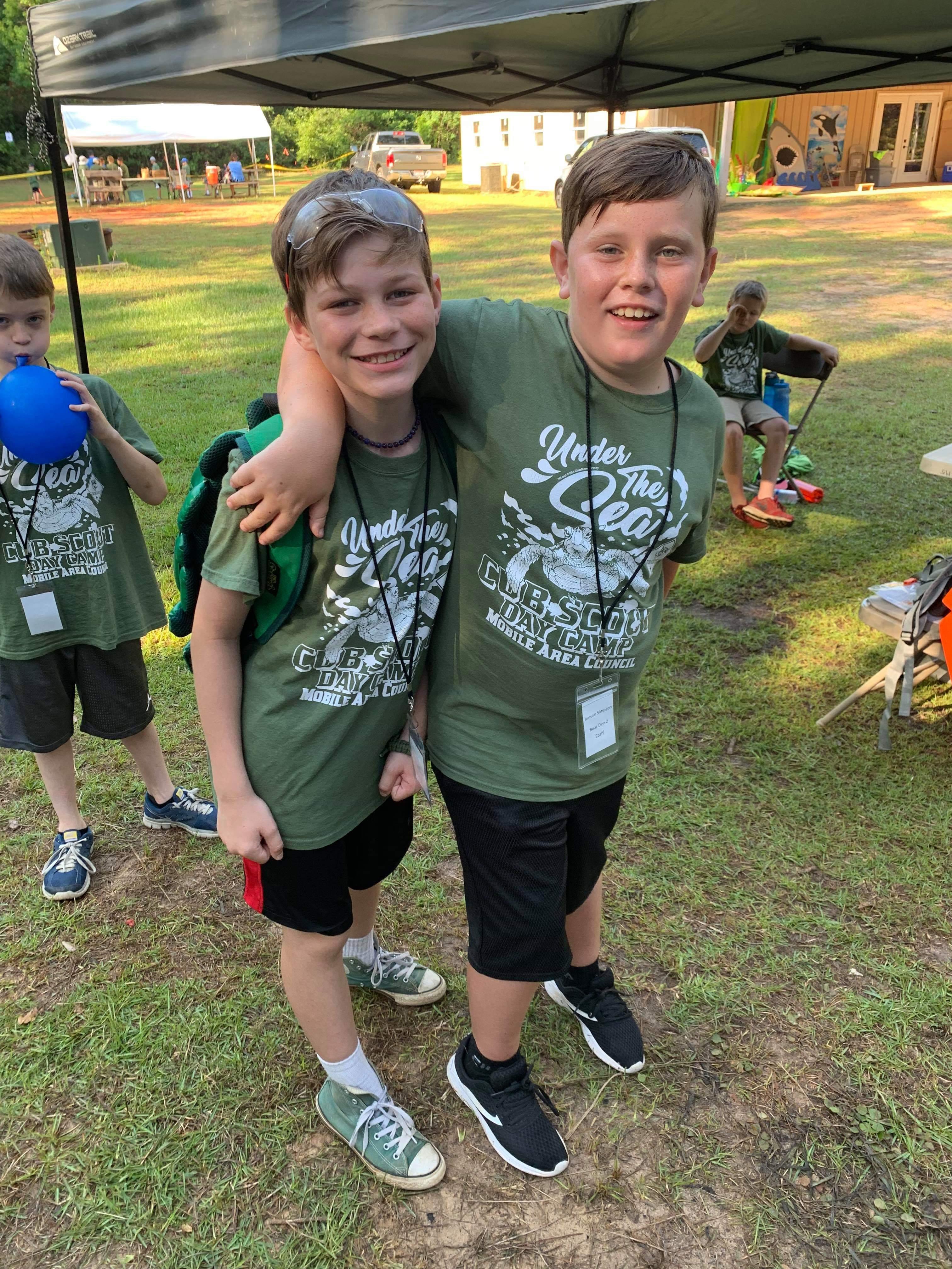 Day Camp Buddies
